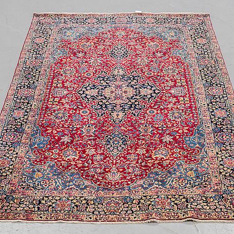 A rug, semi-antique kerman, ca  238 x 145 cm.