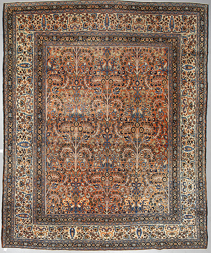 A carpet, antique/semi-antique khorasan, ca 392 x 226 cm.
