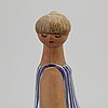 Lisa larson, a 'dora' stoneware figurine from gustavsberg.