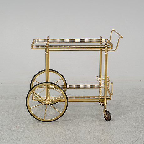 A second half of the 20th century drink trolley.