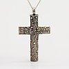 A silver cross. lahti 1971.