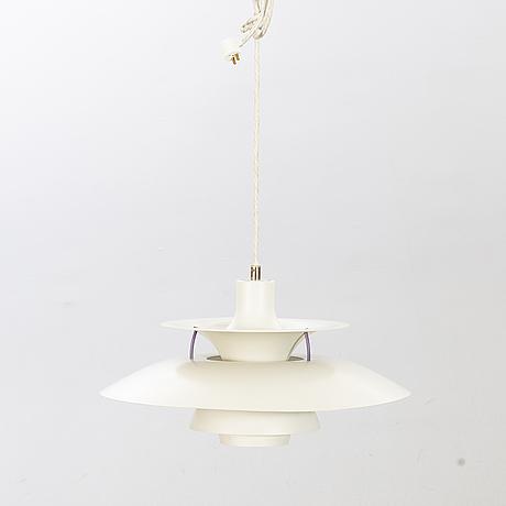 """Poul henningsen, taklampa, """"ph 5"""" för louis poulsen 1900-talets andra hälft."""