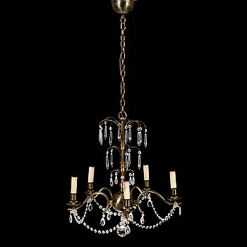 PAAVO TYNELL, a 1930's '1470' chandelier for Taito.