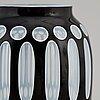Carl schappel, a 'borussia' glass vase from haida, early 20th century.