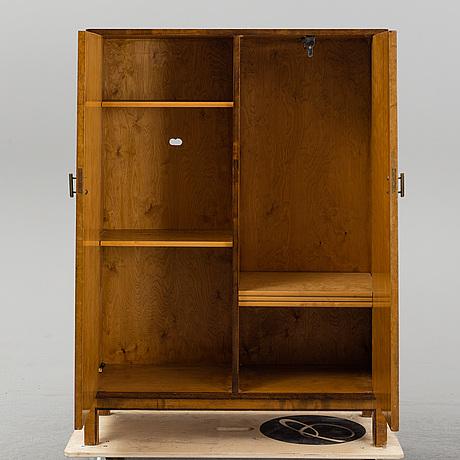 A 1930's art déco cabinet.