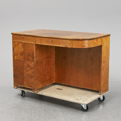 A 1930's writing desk.