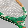 Jumbo tennisracket, international jumbo, ken rosewall, 1900-talets andra hälft.