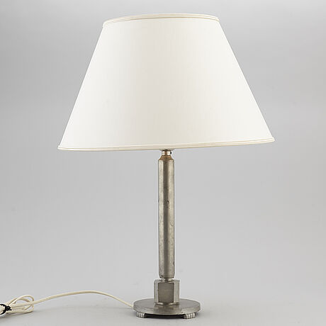 A 1920's swedish grace table lamp by gab.
