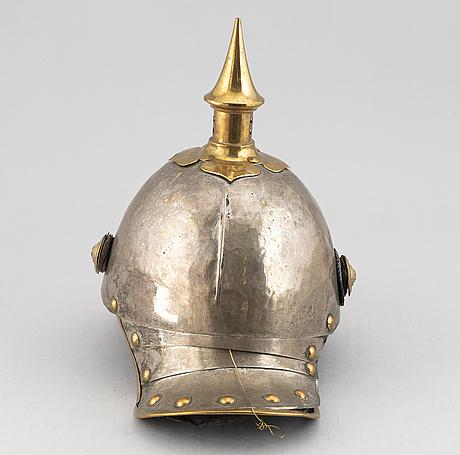 A hanover 1846 pattern  kurassier helmet.