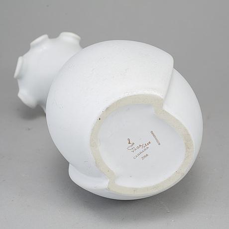 Wilhelm kÅge, a 'våga' stoneware vase from gustavsberg.