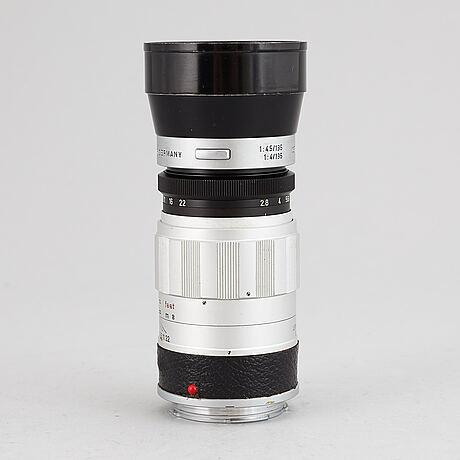Leitz wetzlar, camera lens,  elmarit-m, 1:2.8/90.