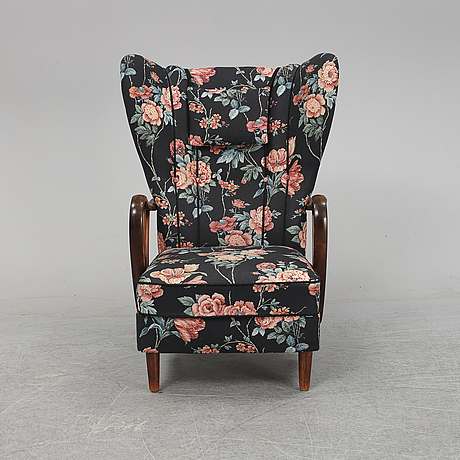 A swedish modern easy chair, 1940's.