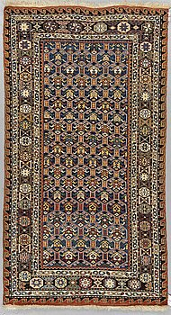 A RUG, an antique/semi-antique soumak, Caucasia, ca 167,5-169,5 x 92,5-94,5 cm.