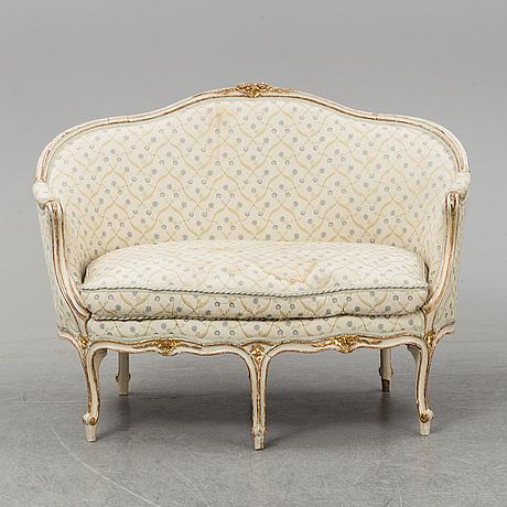 A louis xv sofa.