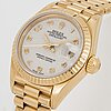 Rolex, oyster perpetual, datejust, wristwatch, 26 mm.