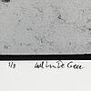 Carl johan de geer, photo, signed 1/3.
