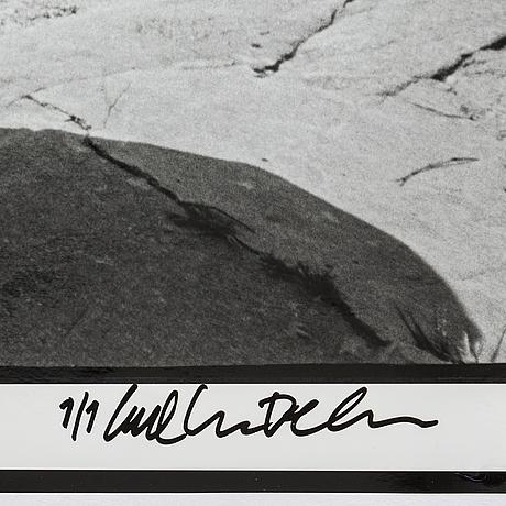 Carl johan de geer, fotografi, signerat 1/1.