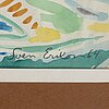 Sven x:et erixson, watercolour, signed and dated -64.