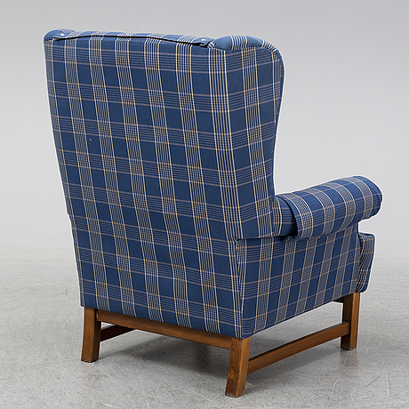 Ragnar helsÈn, oxford easy chair, model 3543.