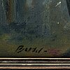 Bertil norÉn, oil on canvas, signed. executed around 1916.