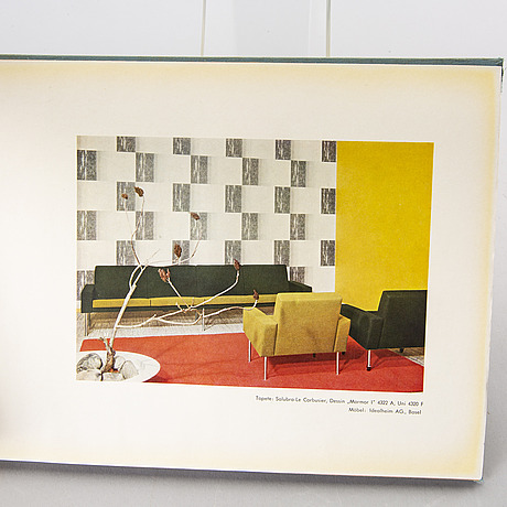 "Le corbusier, ""salubra, la deuxime collection""."
