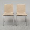 Six end of the 20th century chairs by enrico franzolini for accademia.