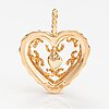 "Tony granholm, a 14k gold pendant ""heart of the house"". kalevala koru, 2008."