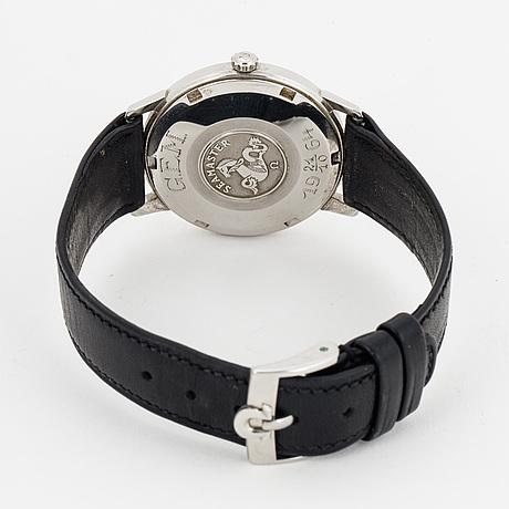 Omega, seamaster, armbandsur, 34 mm.