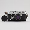 Leica m3, double stroke, 1955, chrome.
