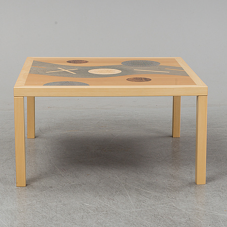 A 'der fluss' coffee table by karl gustaf nilsson, gärsnäs.