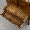 A rococo cabinet, 18th century.