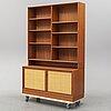 A 1960's teak shelf by alf svensson, bjästa.