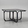 Jan bocan, a stained bent wood dining table, late 20th century.