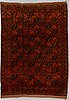 A carpet, semi-antique ersari, ca 278 x 195 cm.