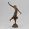 Unknown artist 20th century, sculpture. signed. foundry mark. bronze, height 33.5 cm.