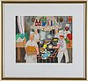 Lennart jirlow,  lithograph in colours, 2011, signed 336/385.