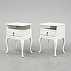 A first half of the 20th century pair of bedside tables.