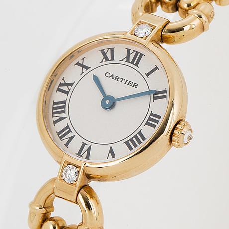 Cartier, vlc, armbandsur, 19.5 mm.