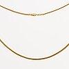 Goldchain 18k gold, baleastra, 6,5 g, 38 cm.