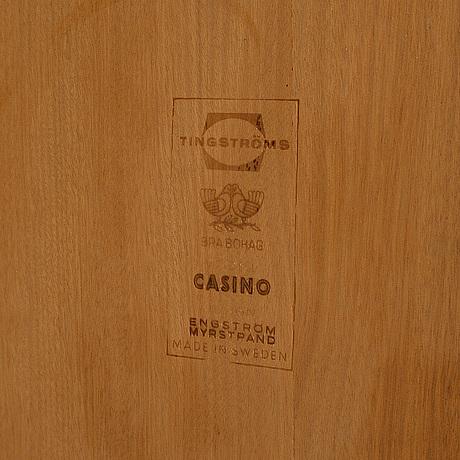 A 'casino' set of drawers by sven engström & gunnar myrstrand.
