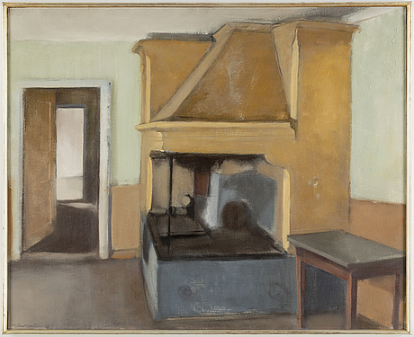 BjÖrn hallstrÖm, oil on canvas, signed and dated -78.