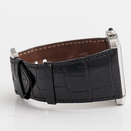 Cartier, tank divan, armbandsur, 38 x 24 mm.
