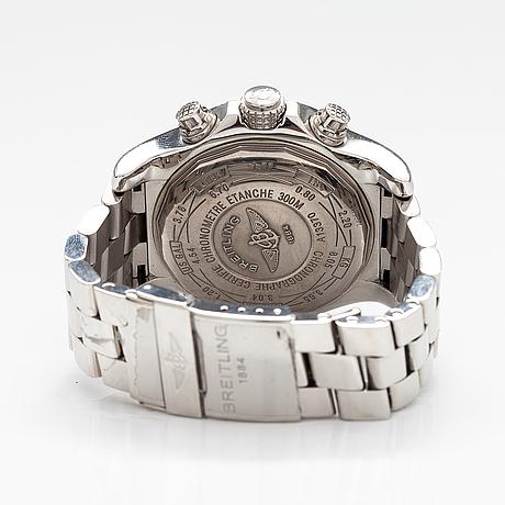 Breitling, super avenger, chronograph, rannekello, 48,5 mm.