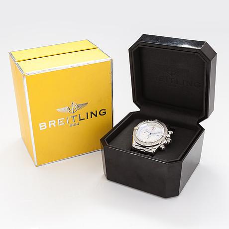 Breitling, super avenger, chronograph, wristwatch, 48.5 mm.