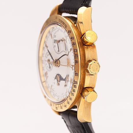 Omega, speedmaster, triple date, moonphase, kronografi,  rannekello, 39 mm.