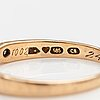 A 14k gold ring with diamonds ca. 0.08 ct in total. mallikoru, helsinki 1980.