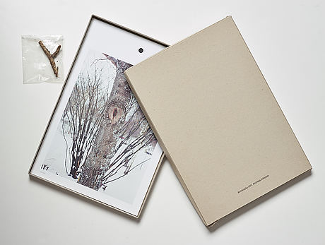 Andreas eriksson, portfolio. signed ae inside the box and numbered 18/250.