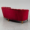 Otto schulz, attributed to. a swedish modern sofa, 1940's.
