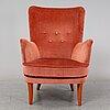 A 'stora furulid' easy chair by carl malmsten.