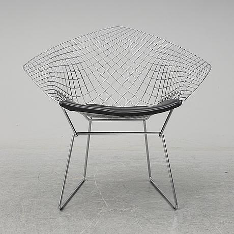 Harry bertoia,  'diamond chair', knoll.